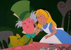 アリスといかれ帽子屋が顔を交換したら?/不思議の国のアリス