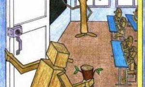【これは考えさせられる】一瞬でドキッとさせられる「刺さる風刺画」6選