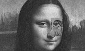 モナリザの目に漫画のキャラを合成。意味がわかった瞬間、「うおーっ!」ってなる画像