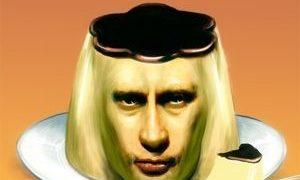ふいたら危ない!プーチン大統領のコラとコラ元画像
